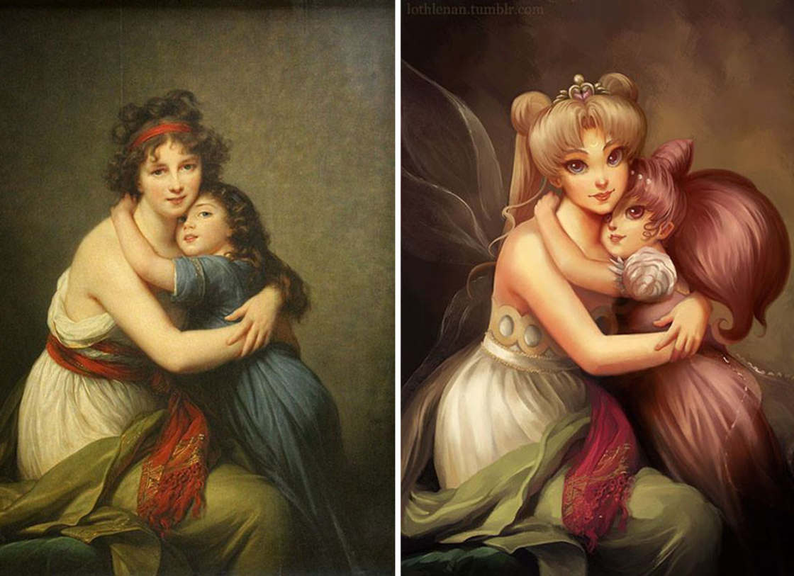 When pop culture meets famous classical paintings