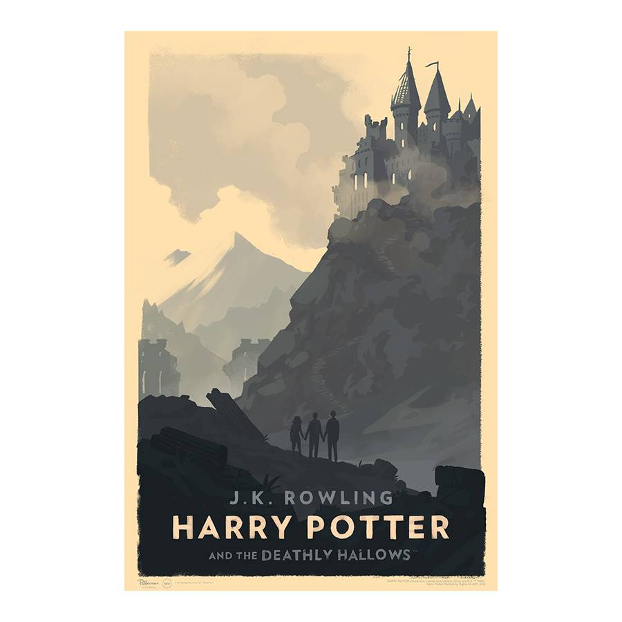 Vintage Illustrated Harry Potter Book Covers
