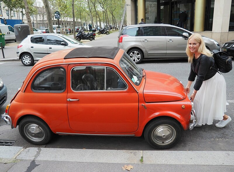 Фиат в Париже, Франция (Fiat in Paris, France)