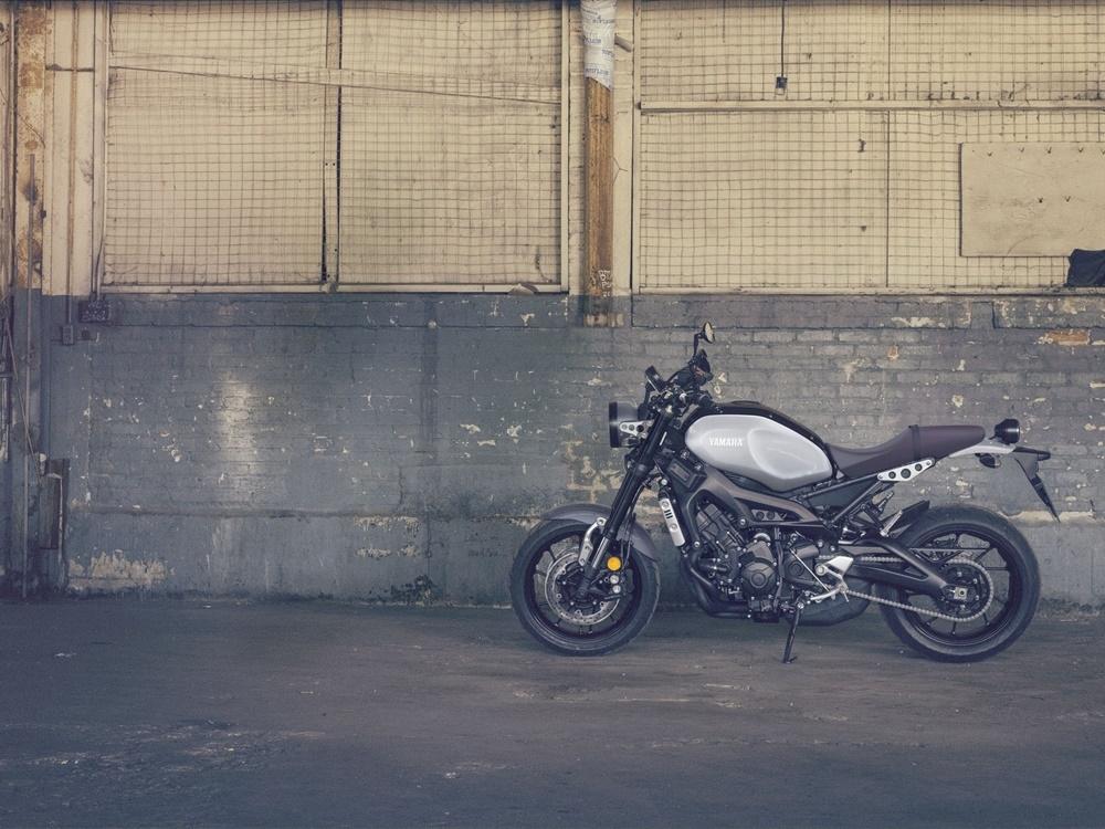 Мотоцикл Yamaha XSR900 получил очередную награду за дизайн