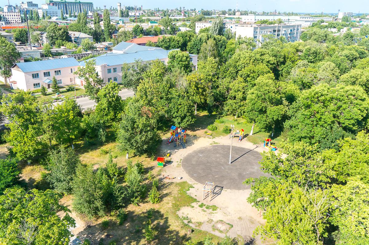 Аткарск городской парк с высоты аэросъёмка фото 3
