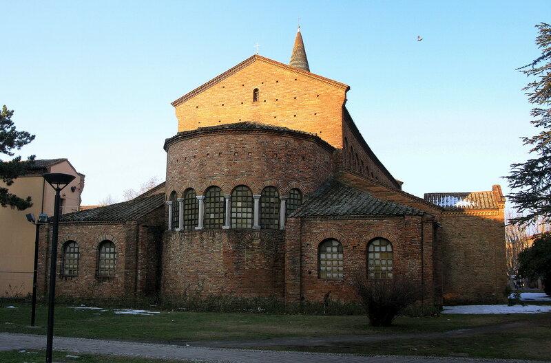 Апсида базилики Сан-Джованни-Эванджелиста