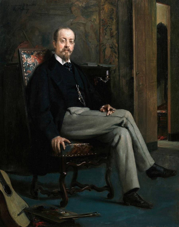 1863-1867_Художник Бенито Сориано Мурильо (El pintor Benito Soriano Murillo)_92,5 x 73_х.,м._Мадрид, музей Прадо.jpg