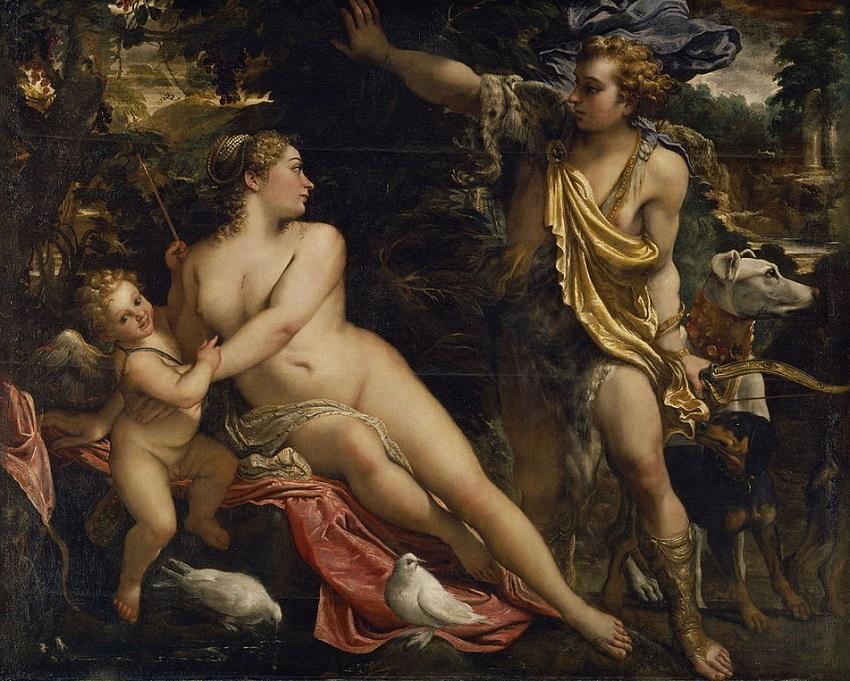Аннибале Карраччи. Венера, Адонис и Купидон.jpg
