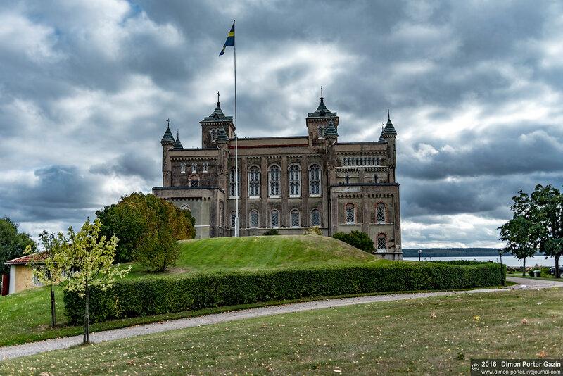 Швеция. Замок Стора Сундбю