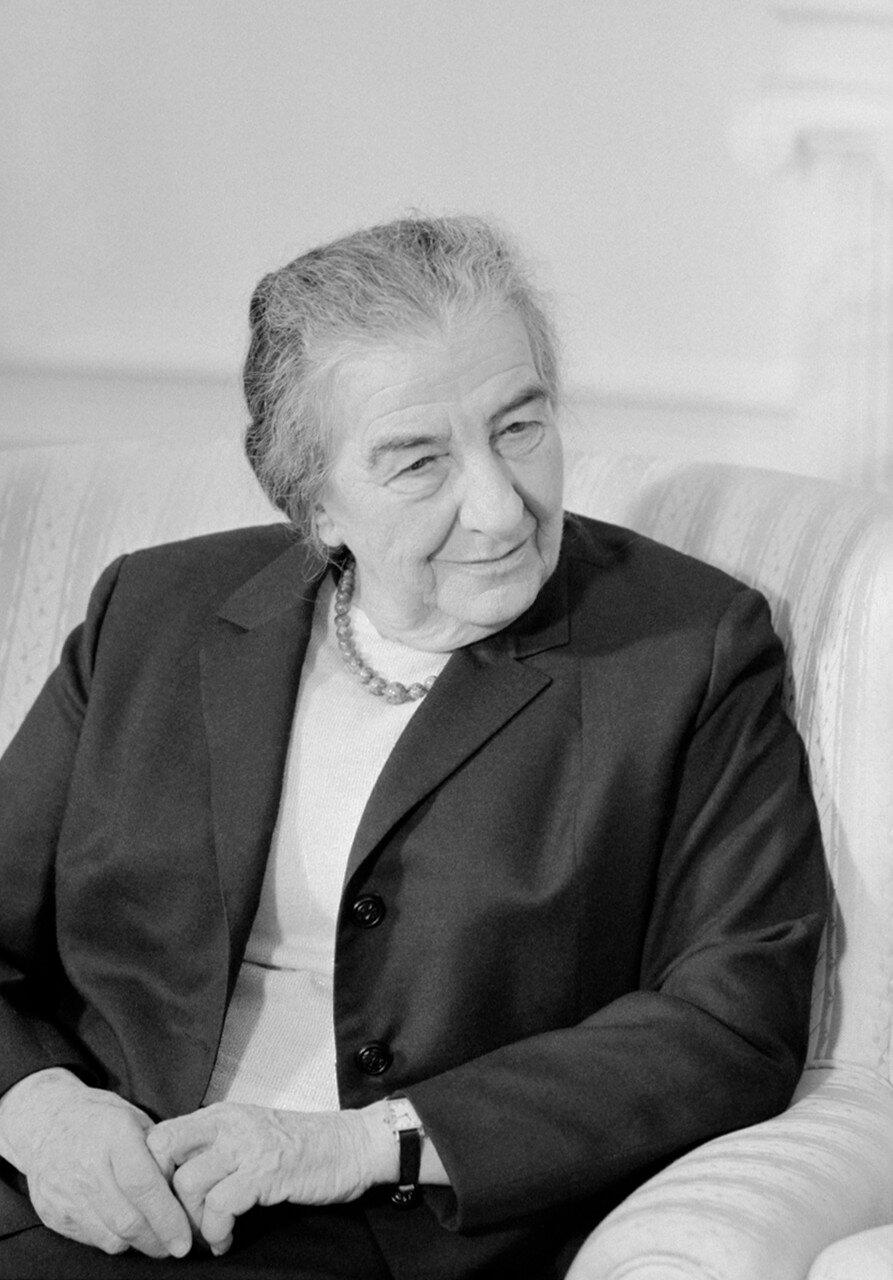 Премьер - министр Израиля Голда Меир
