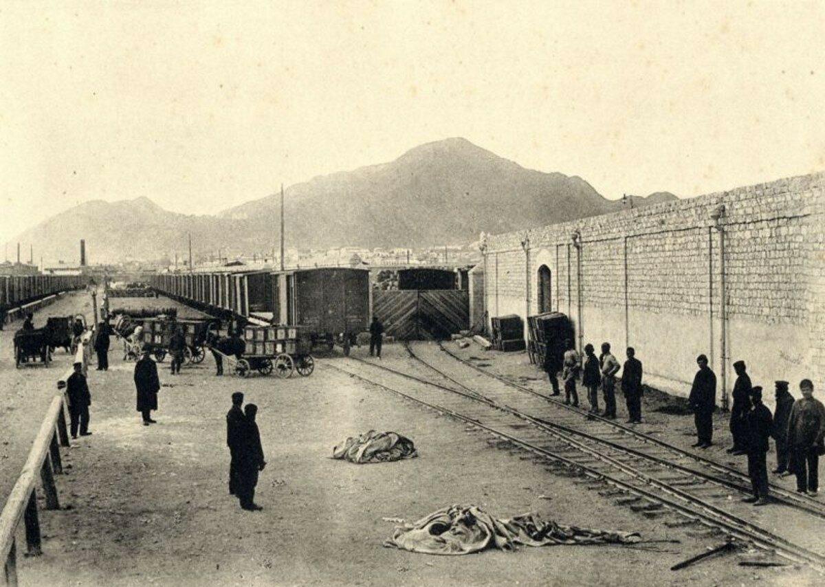 1895 - 1905. Собственный амбар при Красноводском порте