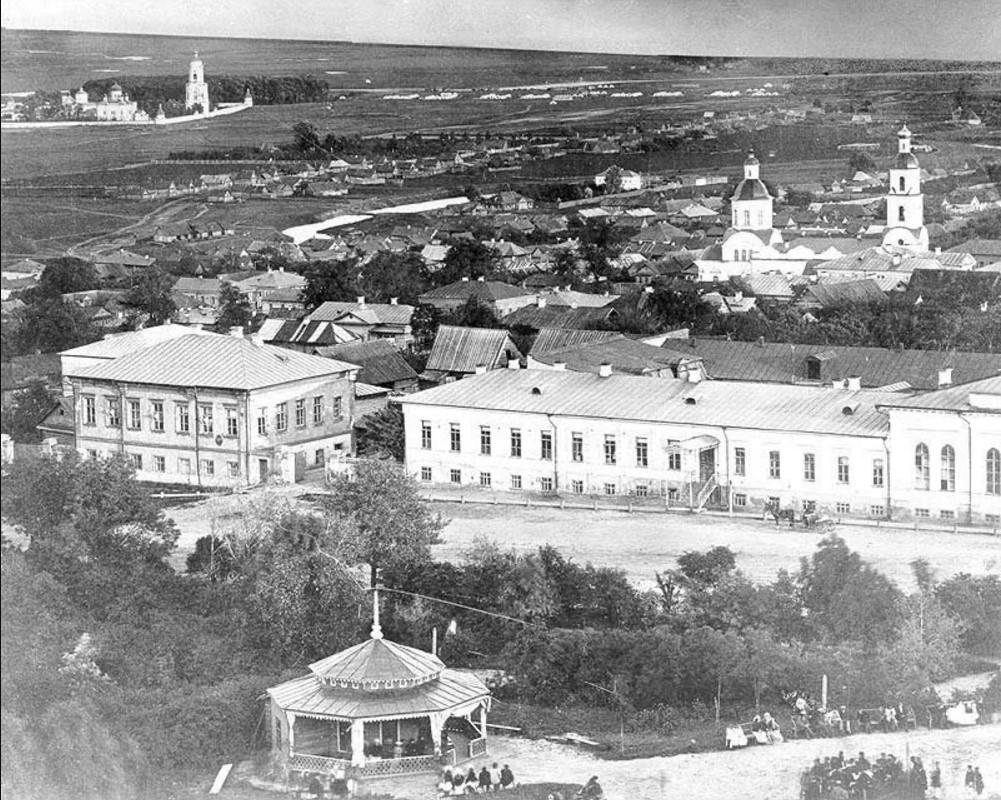 Вид с колокольни Спасского собора