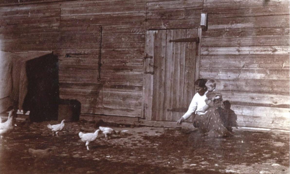 На дворе. Муром, сер. 1890-х