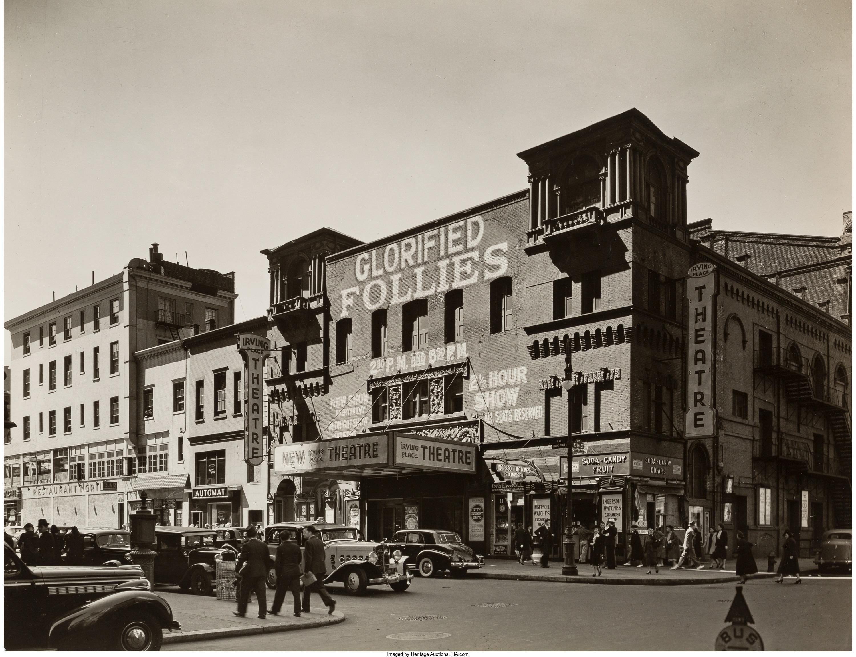 1938. Театр Ирвинг Плейс,Восток 15-я стрит, 118-120. 8 сентября