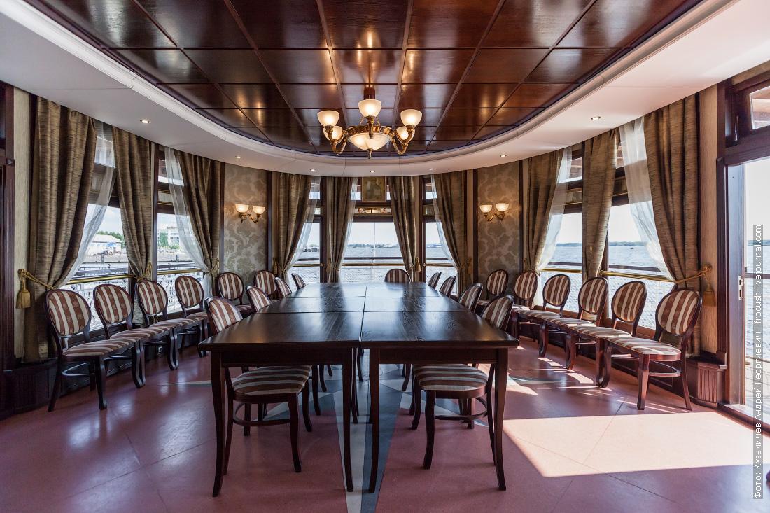 пароход Гоголь описание салон