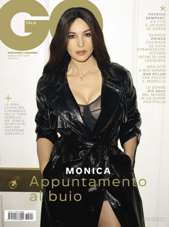 Моника Беллуччи в журнале GQ