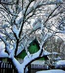 После снегопада.
