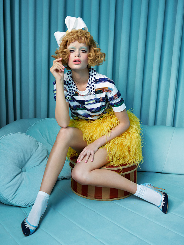 In the doll's house for STYLIST Magazine / фото Sandrine and Michael