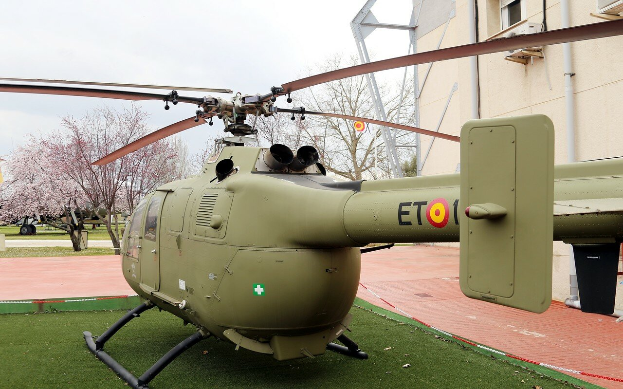 Messerschmitt-Bölkow-Blohm Bo-105CB (Museo del Aire, Madrid)