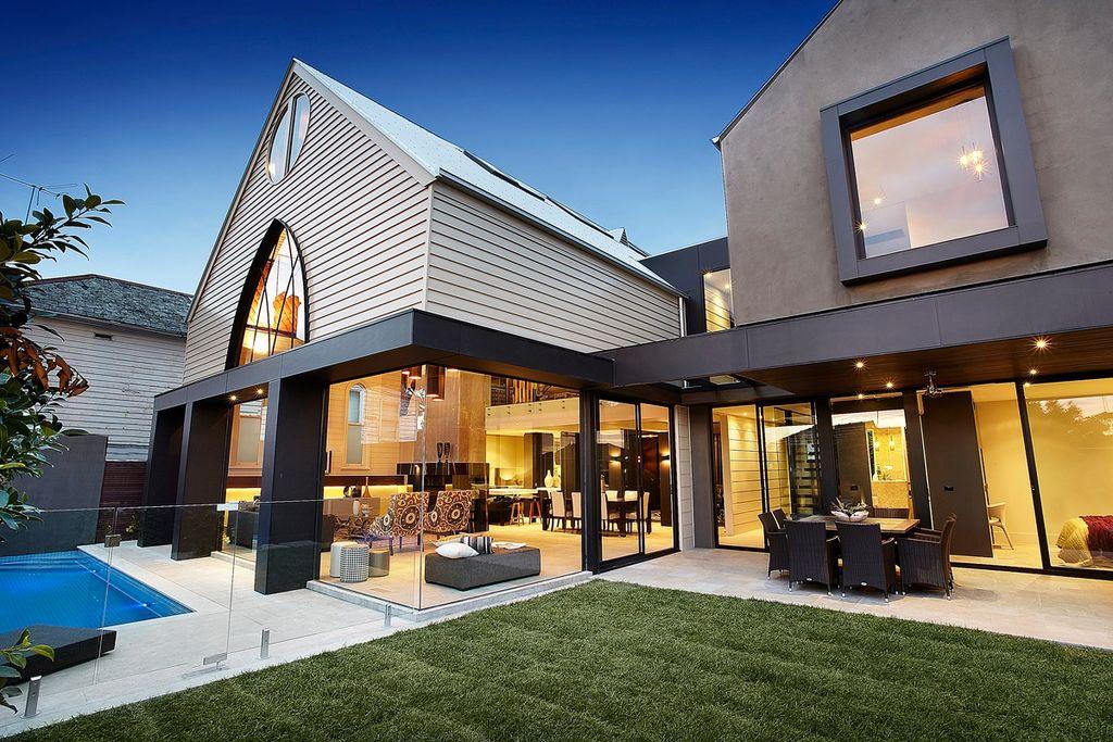 2. Австралийская архитектурная студия Bagnato Architects провела прекрасную работу, превратив старую