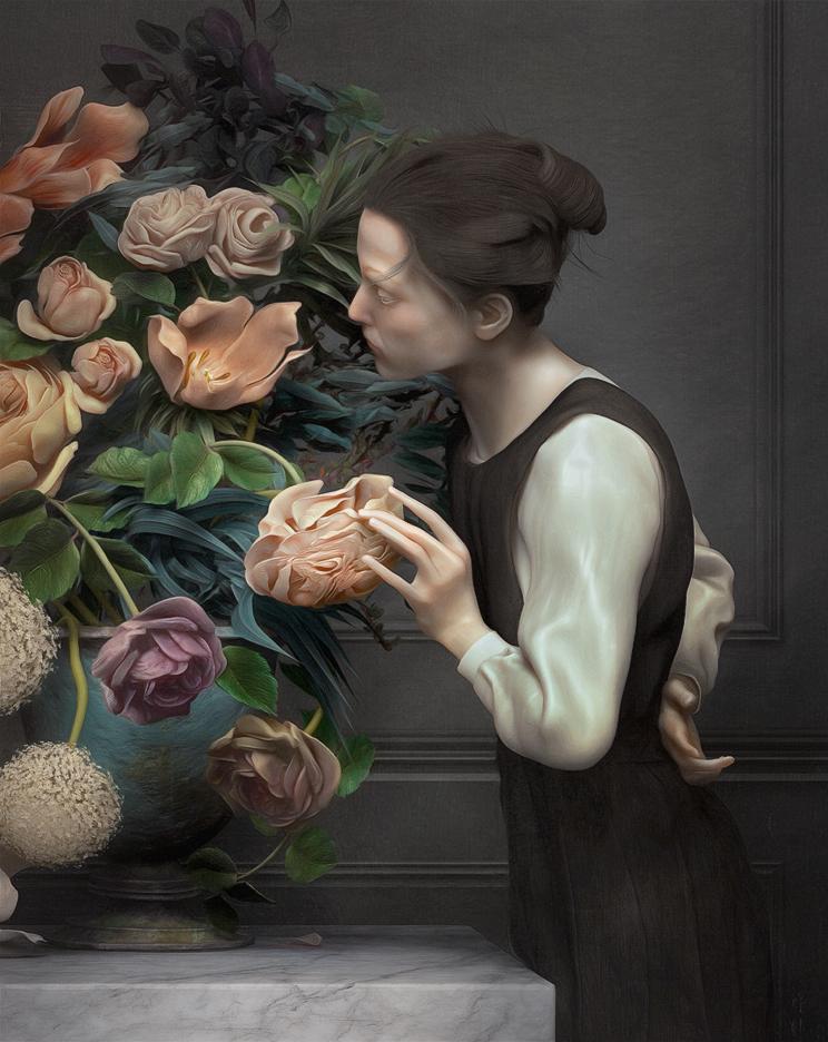 Искусство 3D: живопись Рафаэля Очоа
