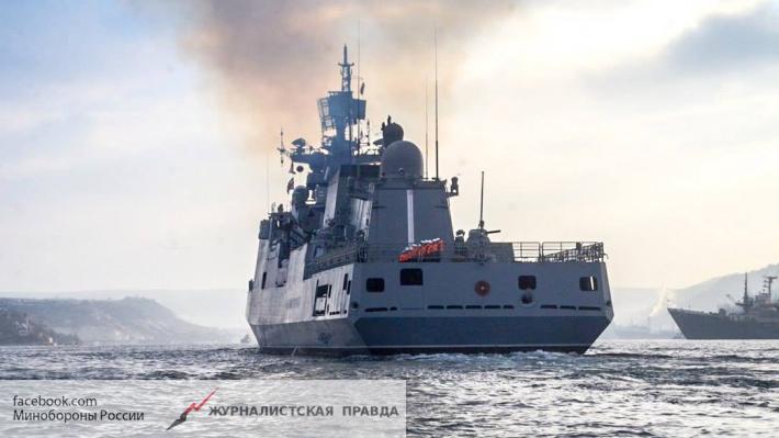 Русские корабли срочно возвращаются вСредиземное море