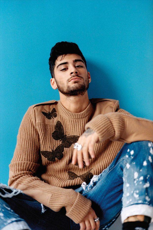 Zayn Malik Stars in ES Magazine November 2016 Cover Story