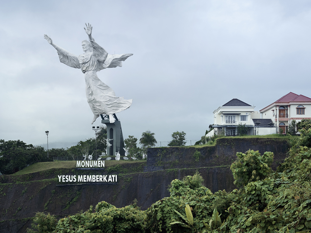 Christ Blessing, Manado, Indonesia, 98.5 ft, built in 2007