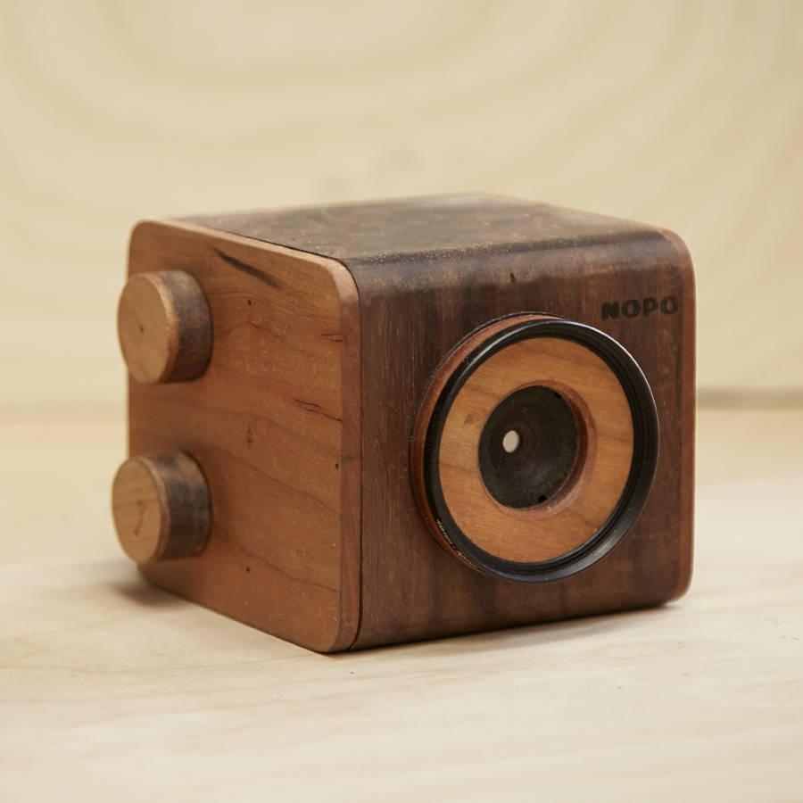 Handcraft Wooden Pinhole Cameras