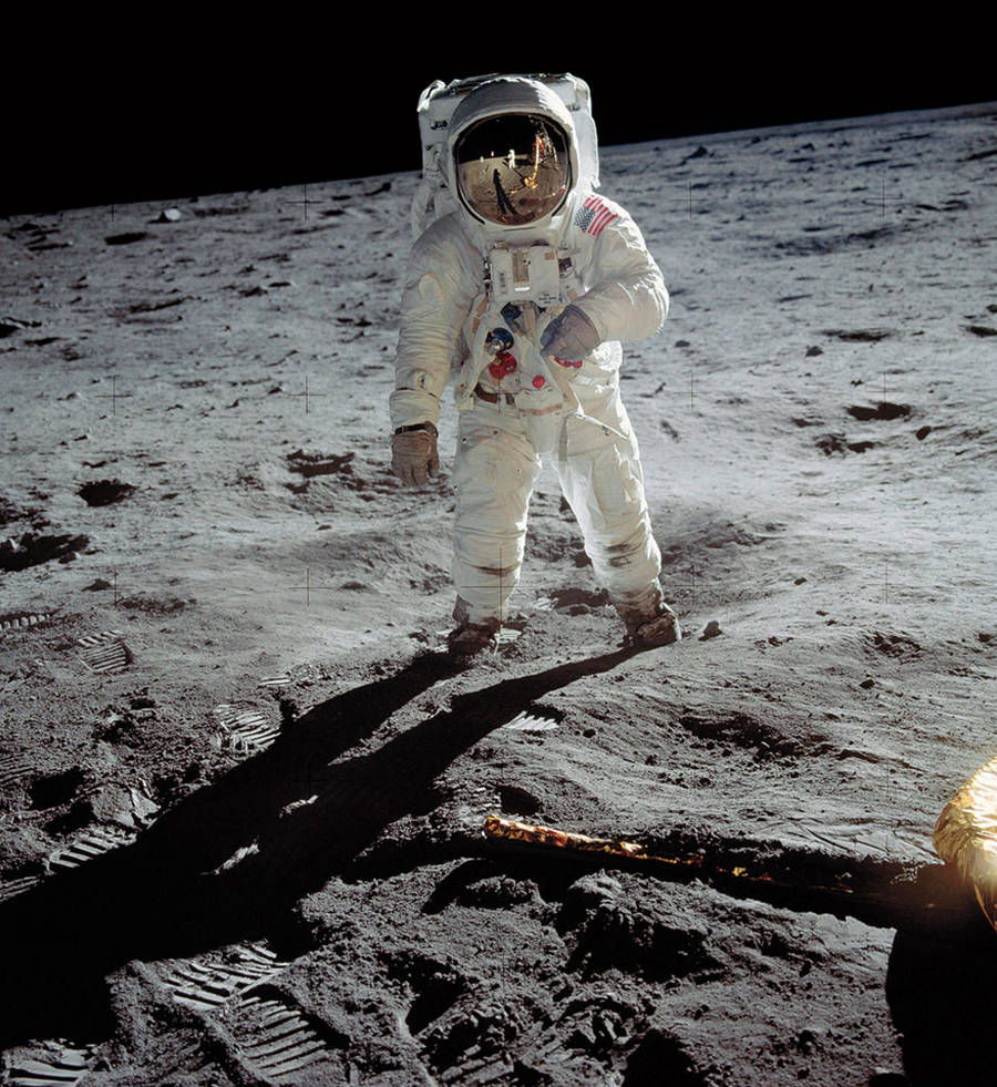 A man on the moon / Neil Armstrong / 1969