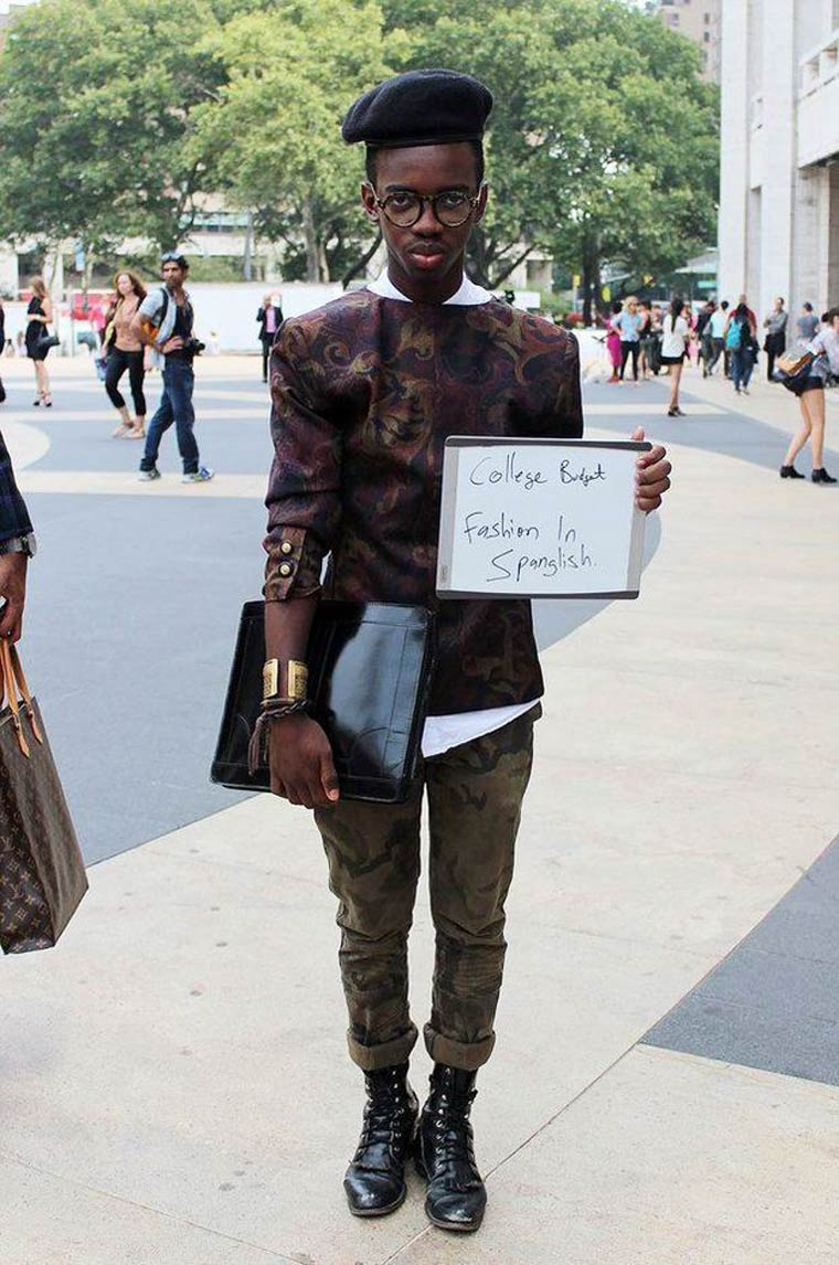 New Yorkers reveal the price of their outfits