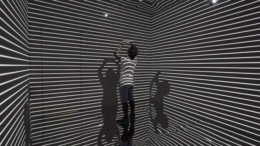 The Infinity Room Installation
