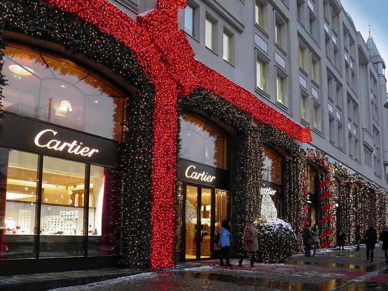 Новогоднее оформление Москвы
