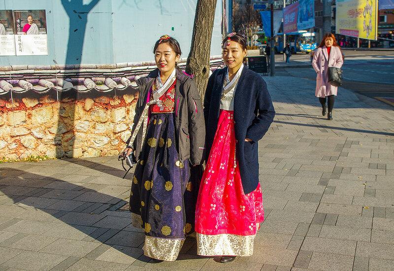 как одеваются в южной кореи дом
