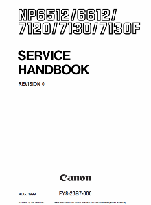 Инструкции (Service Manual, UM, PC) фирмы Canon - Страница 3 0_1b18ea_8d73aace_orig