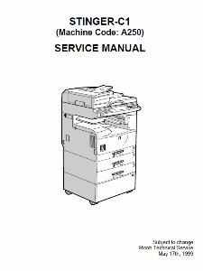 service - Инструкции (Service Manual, UM, PC) фирмы Ricoh 0_1b1ccc_677ee978_orig