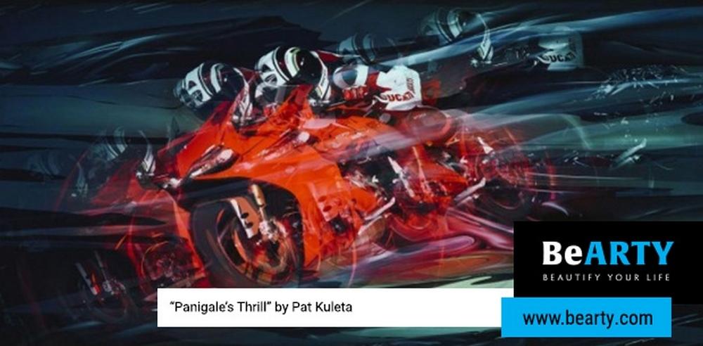 Изобразительная коллекция Ducati на BeArty