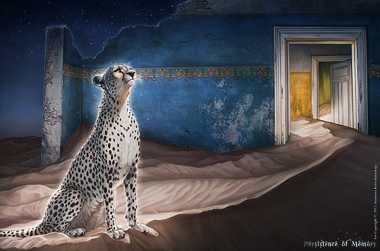 Surreal Animal Illustrations by Anastasia Korochansckaja