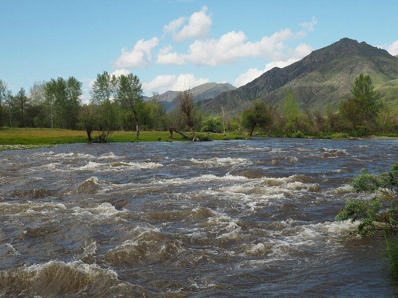 Алтай, река Урсул (Altai river Ursul)