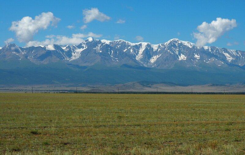 Россия, Алтай, Курайская степь (Russia, Altai, Kurai steppe)