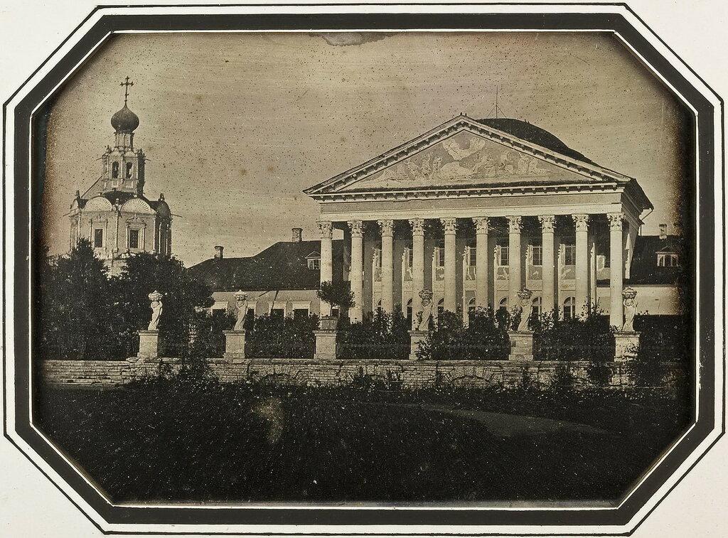 450387 Дом в усадьбе Петровско-Разумовское 1840-е дагеротип.jpg