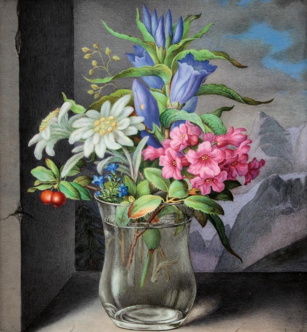 Künstler Mitte 19. Jahrhundert