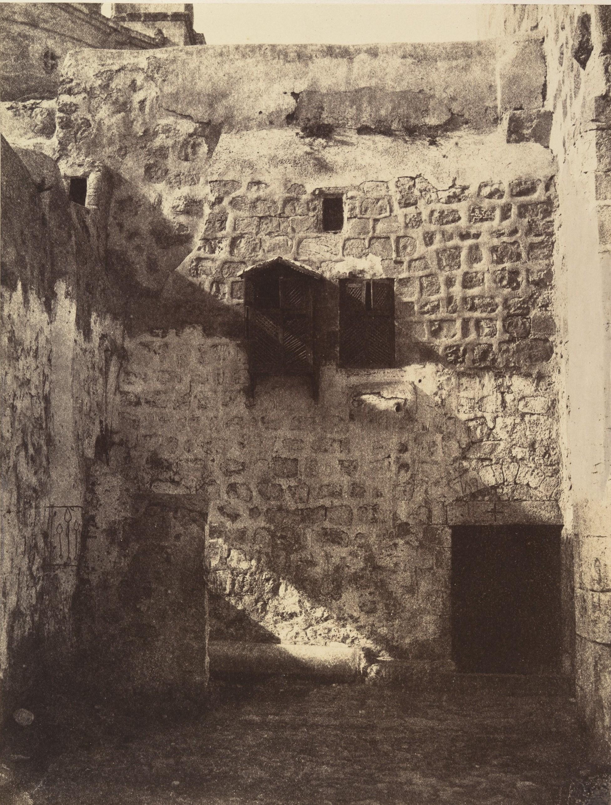 IX станция. Место третьего падения Христа