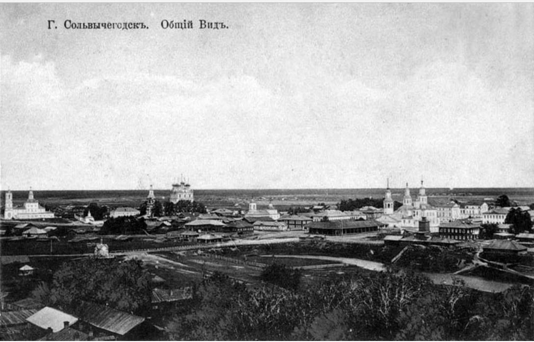 Вид на северо-восток с колокольни Благовещенского собора