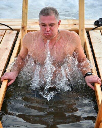 Крещенские купания в Ярославле.