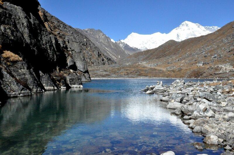 Первое озеро долины Гокио