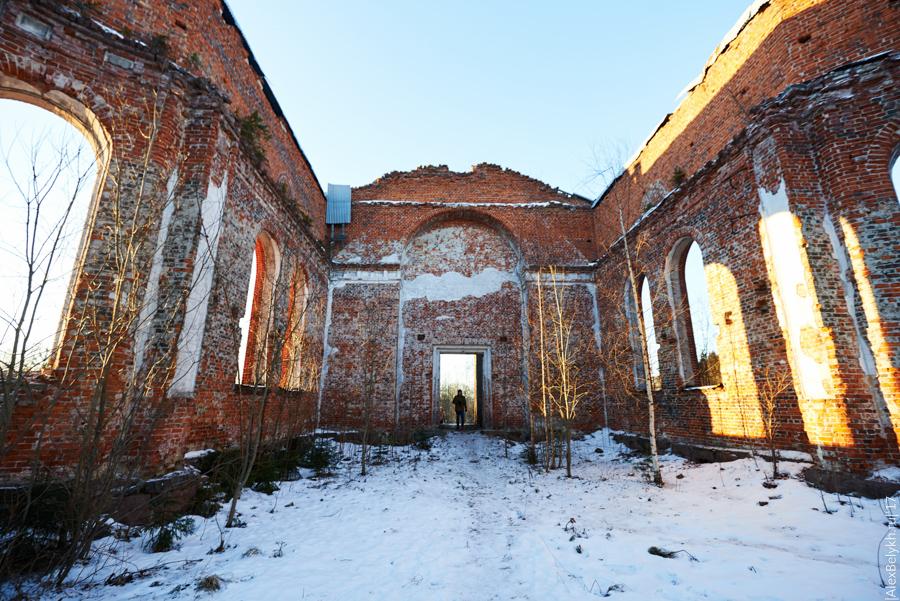 Лютеранская церковь прихода Яккима, alexbelykh.ru, руины церкви Лахденпохья, церковь Лахденпохья, кирха Лахденпохья