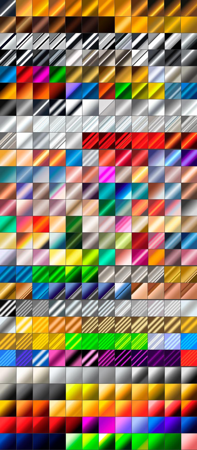 Градиенты для Photoshop и GIMP