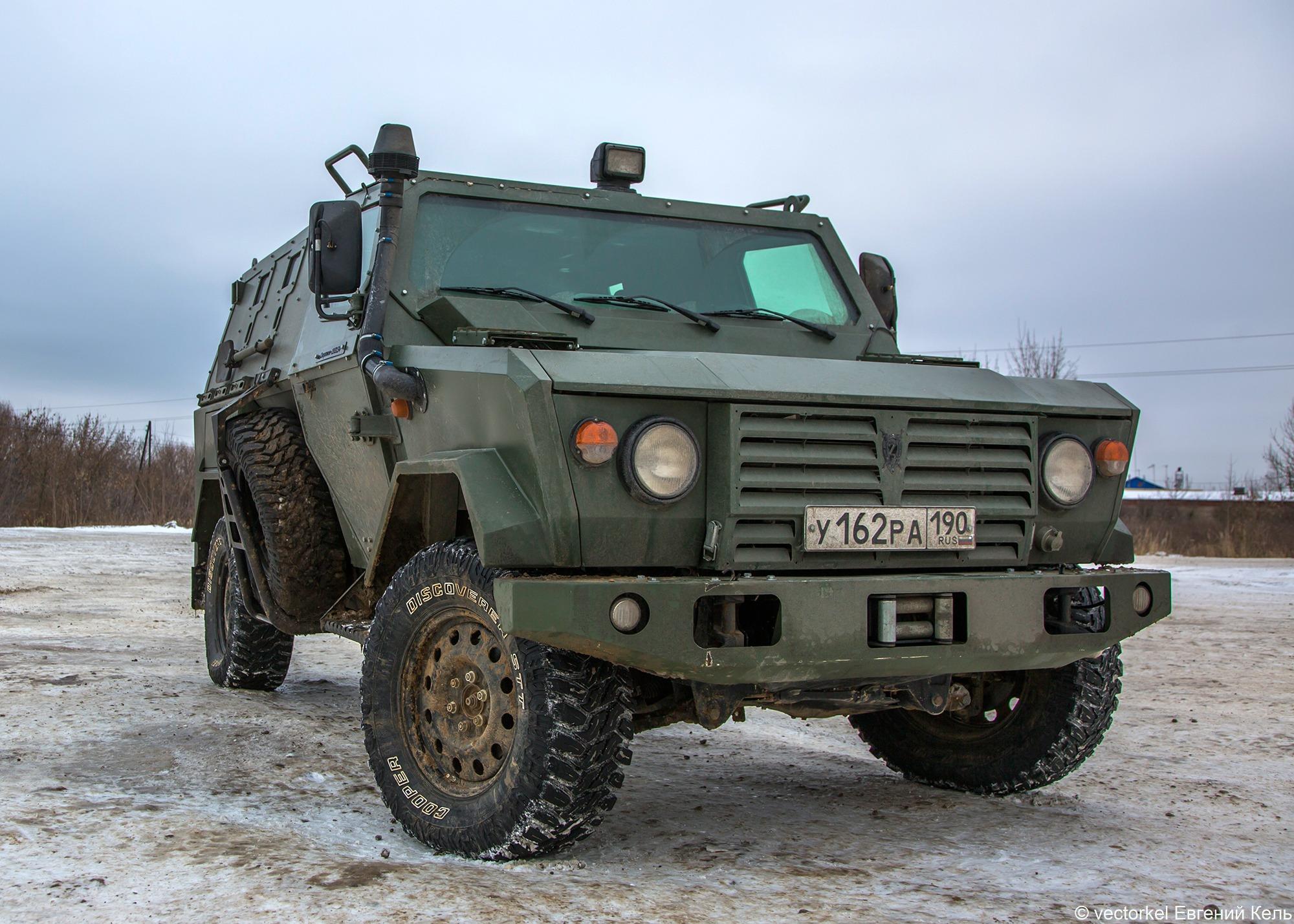 Легкий штурмовой автомобиль «Скорпион» ЛША-2Б.