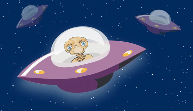 Открытки с Всемирным днём НЛО. День Уфолога. В корабле
