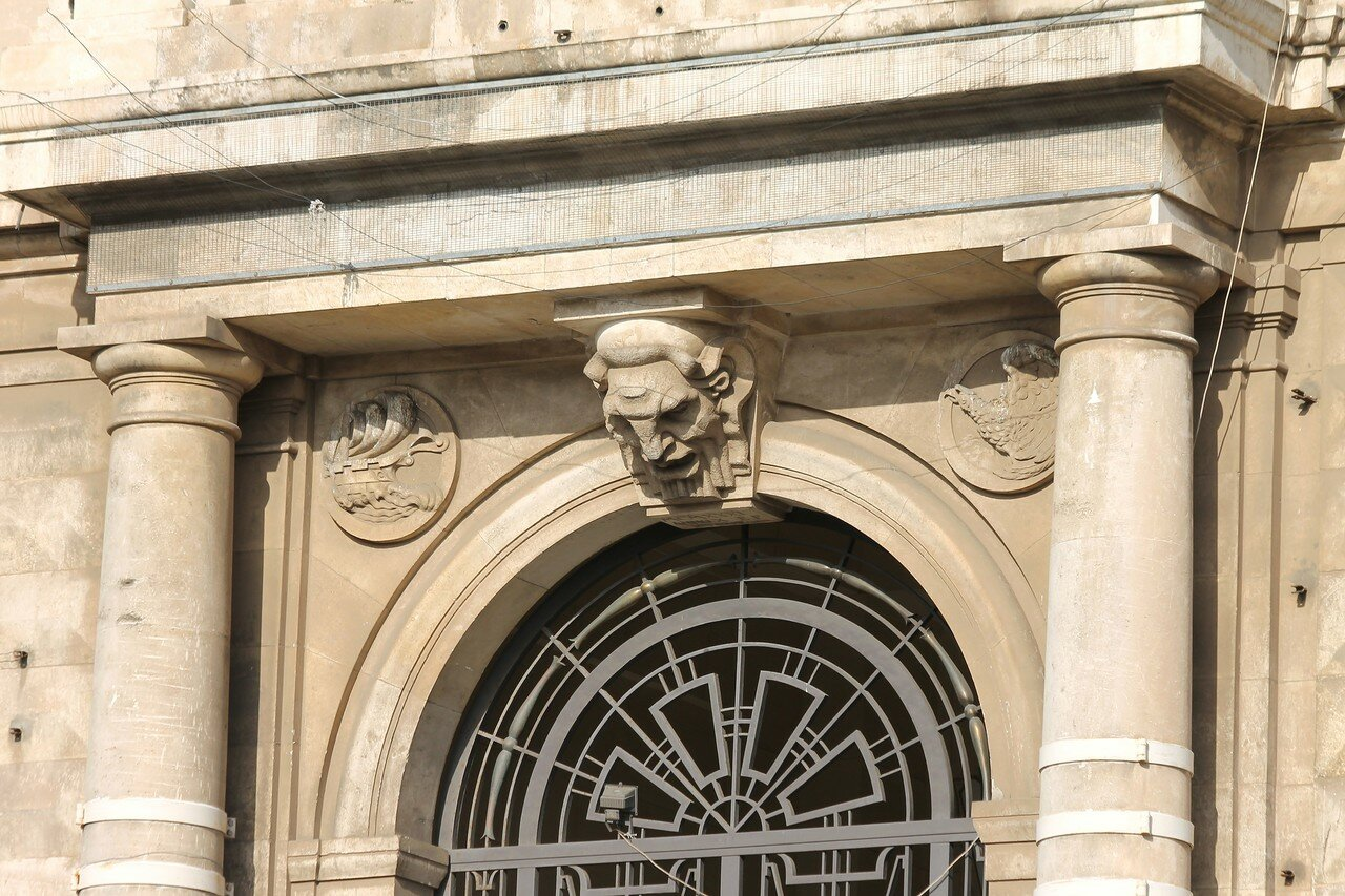 Катания. Дворец биржи (Palazzo della Borsa)