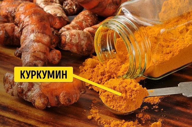 © depositphotos.com  Основным действующим элементом куркумы является куркумин . Это мощный ант