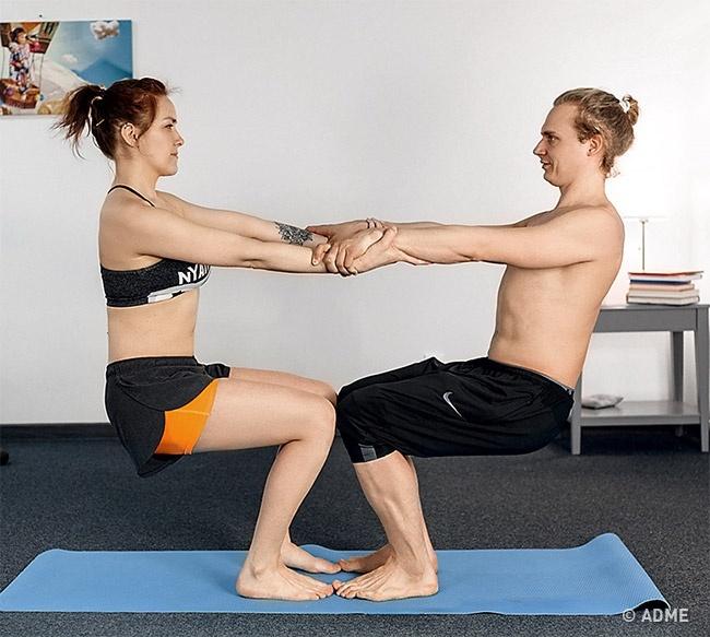 Эффект. Укрепляет ноги ипресс, при этом развивает мышцы равномерно. Развивает подвижность плеч ира
