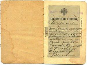 Паспортная книжка 0310